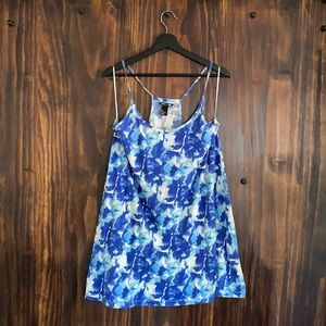 H&M Watercolor Floral Tunic